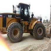 Used wheel loader CATERPILLAR 966G-2