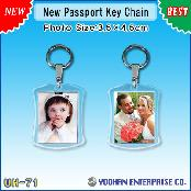 UH-71 New Passport Key Chains