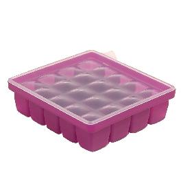 [Daeyoon INTL]baby&i Baby Food Storage Container Tray with Silicone Lid 20-spaces [0.5 oz]