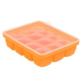 [Daeyoon INTL] baby&i Baby Food Storage Container Tray with Silicone Lid 12-spaces [1oz]