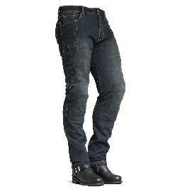 MAXLER JEAN Men's Bike Motorcycle Motorbike Kevlar Jeans 1617 Blue