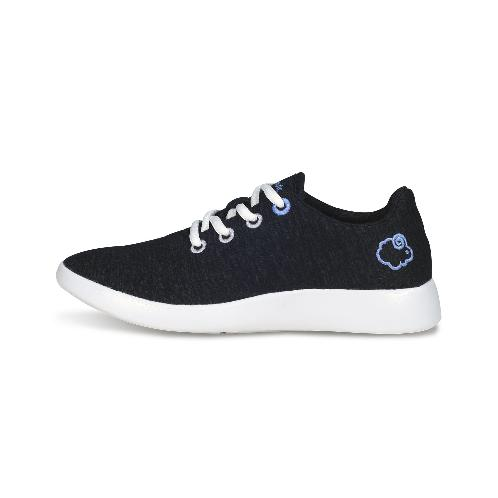 Premium Merino wool shoes_lace-up sneakers_black | Shoes,Casual shoes,Wool,Comfortable shoes, sneakers, sports, footwear
