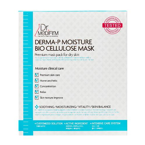 DR.MEDIFIRM DERMA-P MOISTURE BIO CELLULOSE MASK | MOISTURE STORAGE MASK PACK, CELLULOSE MASK