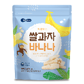 Wise Mom Rice Snack Banana Flavor
