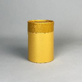 Paper tube 79-S (Gold combi)_Tea Coffee Jam Packing Box Cylinder Gift Box Wrapping Supplies
