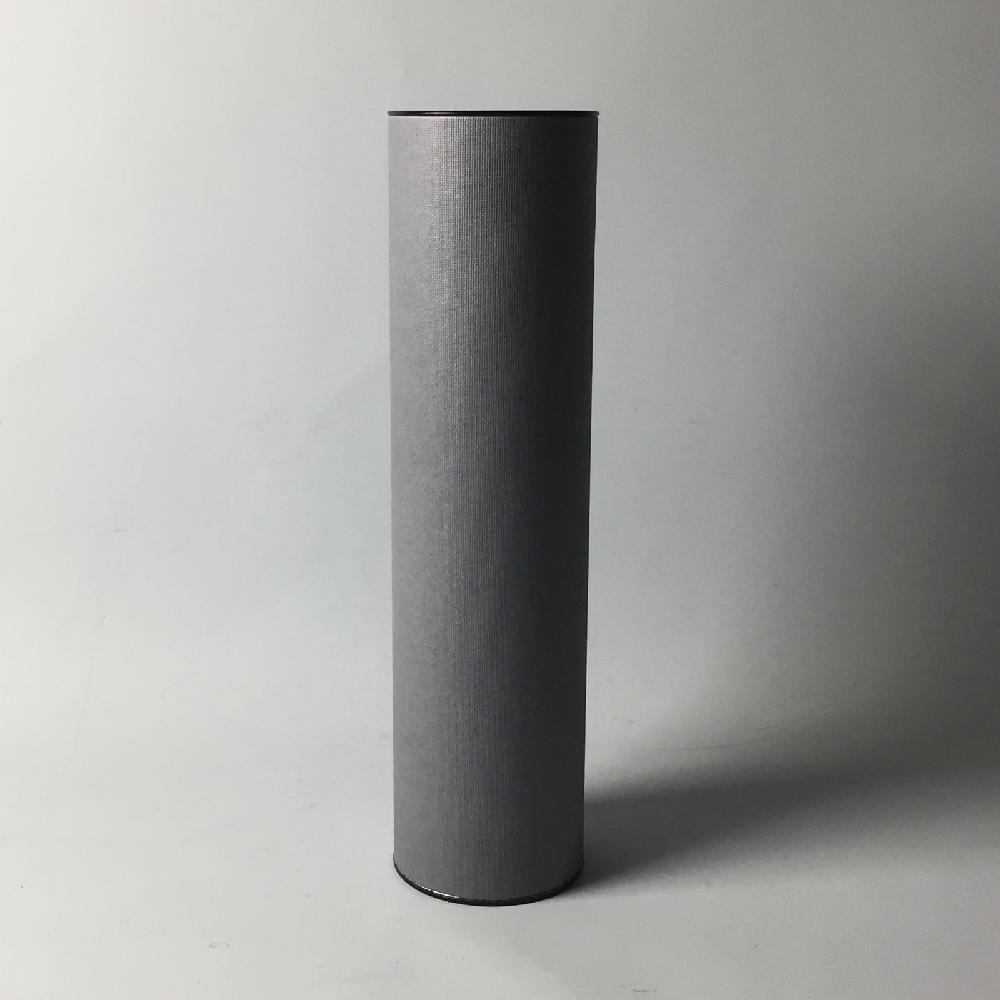 Tin Cap Paper Tube 83x330 Gray Coffee Wine Liquor Packing Box