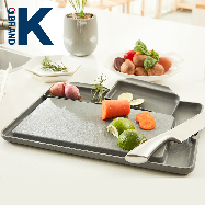 Double save D chopping board