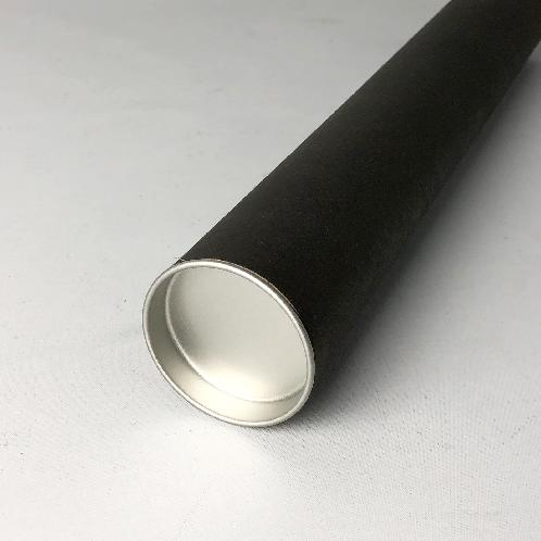 Shipping paper tubes&Lids 50x650 (Black/100ea)_Envelopes Mailers Shipping Supplies Tube Mailers | Paper tube, Paper pipe, Mailing tube, Cardboard tube, Cardboard pipe, Stationery