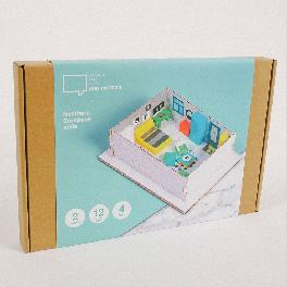 [play my room] Studio Planning/Furniture Arranging Kit for Children (Educational Toys / Northern Eur