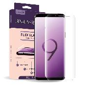Full coverage high hardness (6H) 3D forming glass screen protector for curved devices (Galaxy S9/S9+