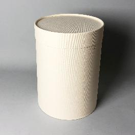 Flower paper tube 180x245 (White)_Flower Cake Packing Box Cylinder Gift Box Wrapping Supplies