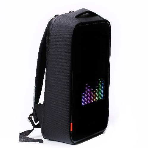 Prevent lost and waterproof SMART BACKPACK with night safety supplies 280 x 450 x 130(mm) | Smart bag, backpack. Safety goods, suitcase, LED ad