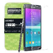 BIOSHIELD 9H Tempered Glass Screen protector for Galaxy S6, Galaxy Note 4, iPhone6, iPhone6 Plus