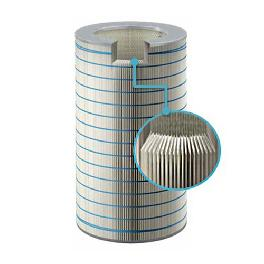 Nanofiber Gas Turbine Inlet Air Filter with outstanding durability and excellent moisture resistance
