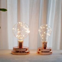2 Types Home Decoration Simple Modern Table Lamp LED With AAA Bbattery