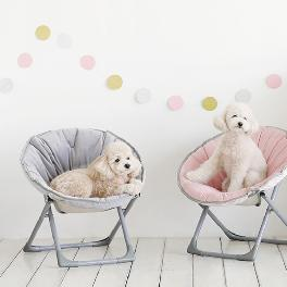 Kids Moon Chair Cover Folding Round foldable Children Chair