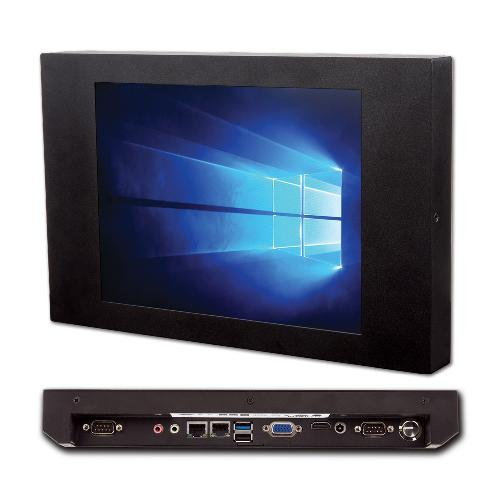 Windows All-in-one PC JECS-J1900P104 | Windows Panel PC, 10.4inch Touch Screen, All-in-one PC