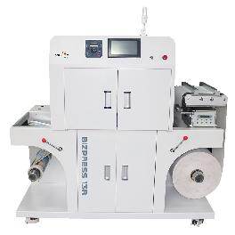 "13"" single-pass LED roll-label press ZAGAR BIZPRESS 13R with the best advanced LED print engine"