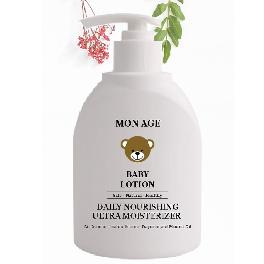Smooth, Soft, Healthy MONAGE PRO BABY ATO LOTION with natural ingredients made in Korea
