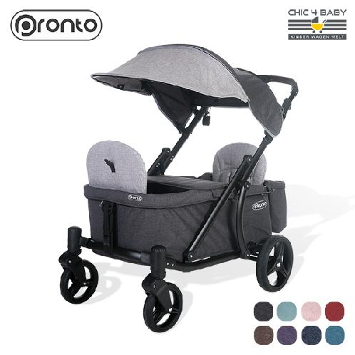 Convenient and solid PRONTO WAGON K03 with nice design and wide storage space for children | stroller, twin stroller, wagon, riding toys, PRONTO WAGON