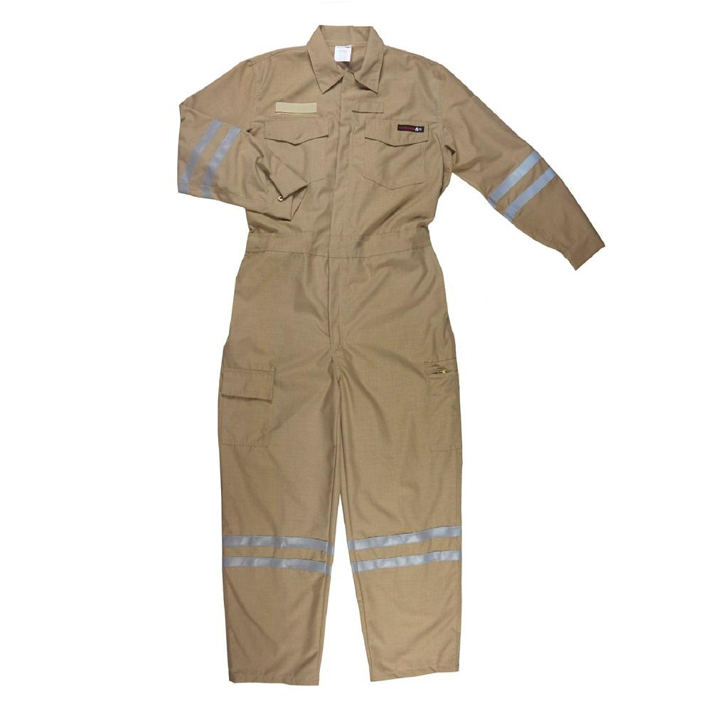 Workwear for employees of oil, gas companies, Nomex coverall  FIRE