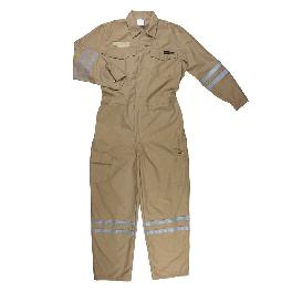 Workwear for employees of oil, gas companies, Nomex coverall. FIRE RESISTANT COVERALL