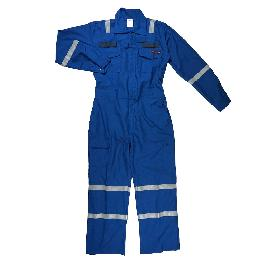 Safe, Stout, Convenient FIRE RESISTANT COVERALL (TS-CVR-1614) made in Korea