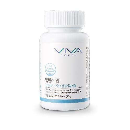 Balance your diet VIVA BALANCE UP with reliable ingredients 120 pills(62g) for woman | Breast enlargement, Breast, elasticity, body, care
