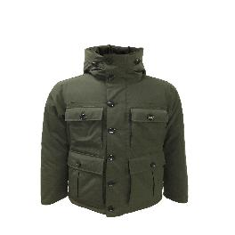 Durable water repellent and front patch pockets MENS MIDDLE DOWN FIELD JACKET (M/L/XL)