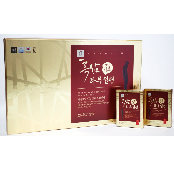 Korean Black Ginseng Honey-sliced