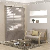 100% Polyester Combi Blind (Legend) with various colors for light control and ventilation