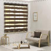 100% Polyester the most common type Black-out combi blind (Wide) for various purposes