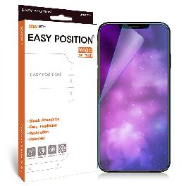 Easy Position Magic Film for iPhoneX with Shock Absorption, Easy Installation and Restoration