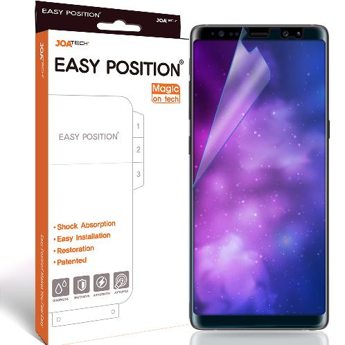 Easy Position Magic Film for Note8 with Shock Absorption, Easy Installation and Restoration | note8 film, smartphone film, screen protector, note8, film
