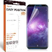 Easy Position Magic Film for Galaxy S8 with Shock Absorption, Easy Installation and Restoration