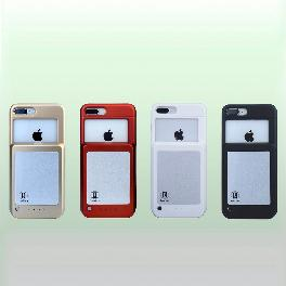 Portable, simultaneous and convenient lithium polymer cell mobile phone case Two in I made in Korea