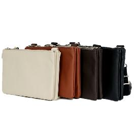 ANTI-THEFT LEATHER TRAVEL BAG (WLS)