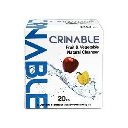 Crinable fruit and vegetable natural cleanser with 99% sterilization excellent at removing bacteria