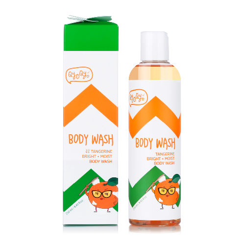 Qyo Qyo Tangerine Bright+Moist BODY WASH QT-BW-11 | BODY WASJ, BODY CARE, JEJU COSMETICS