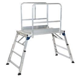 Multi-height & Foldable Aluminum Work Platform