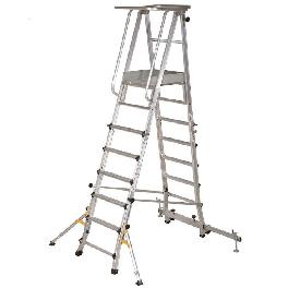 Movabel & Telescopic Platform ladder