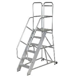 Knoced Down Movable Platform Ladder
