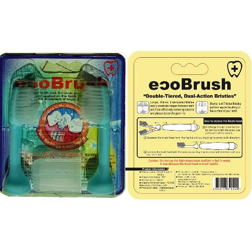 The replacement for ecoBrush | personal care products, oral hygiene,toothbrush