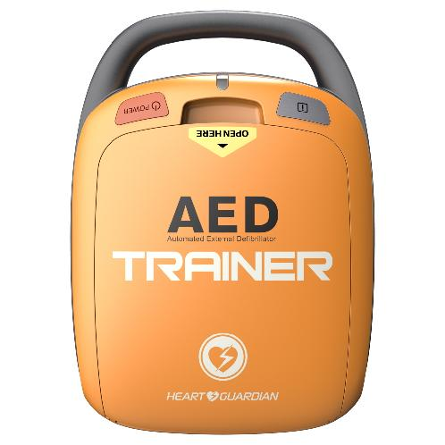 AED (portable defibrillator) (HR-501T) | Training AED defibrillator, AED (portable defibrillator), Emergency medical defibrillator