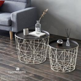 Studio Tables or Baskets Top Handles Removable Tray Top Sustainable Metal