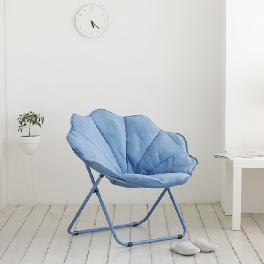 Oversized Folding Moon Chair Multiple Colors Large Round Chair 2