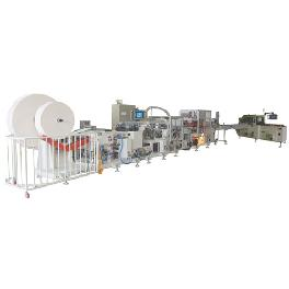 FULLY AUTOMATIC POCKET TISSUE MAKING MACHINERY