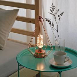 EVERMORE Home Decoration Simple Modern Table Lamp LED With AAA Bbattery