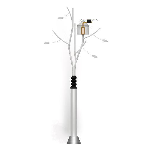 Artpole (Artpole Tree) | Elevating Pole,Lifting and lowering pole,Unmmaned Security system