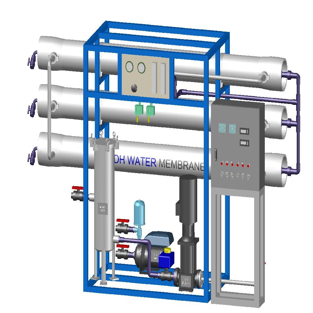 Seawater Desalination Unit DH-T Model Series | Water
